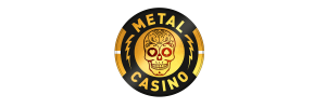 metal casino pinlogo